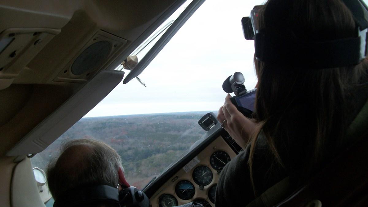 Flying sideways