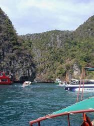 Boat traffic at Ko Phi Phi, Thailand