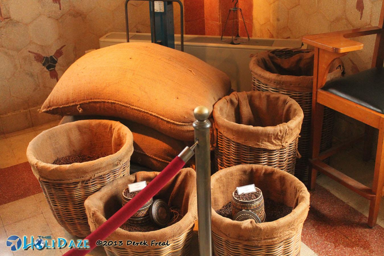 Fresh Tobacco At House Of Sampoerna