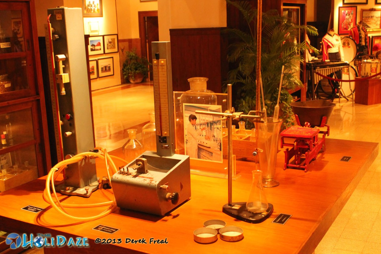 Classic Cigarette Testing Equipment At House Of Sampoerna