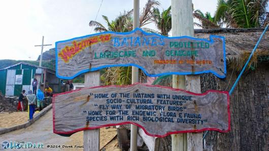 Sabtang Island Welcome Sign