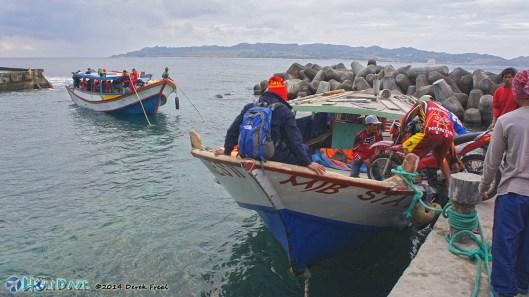Ferry From Batan To Sabtang Island, Batanes