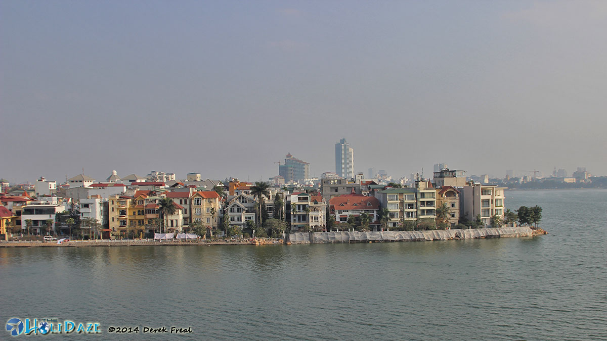View From My Hanoi Apartment