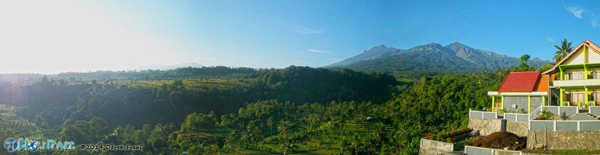 Lombok Island Panorama