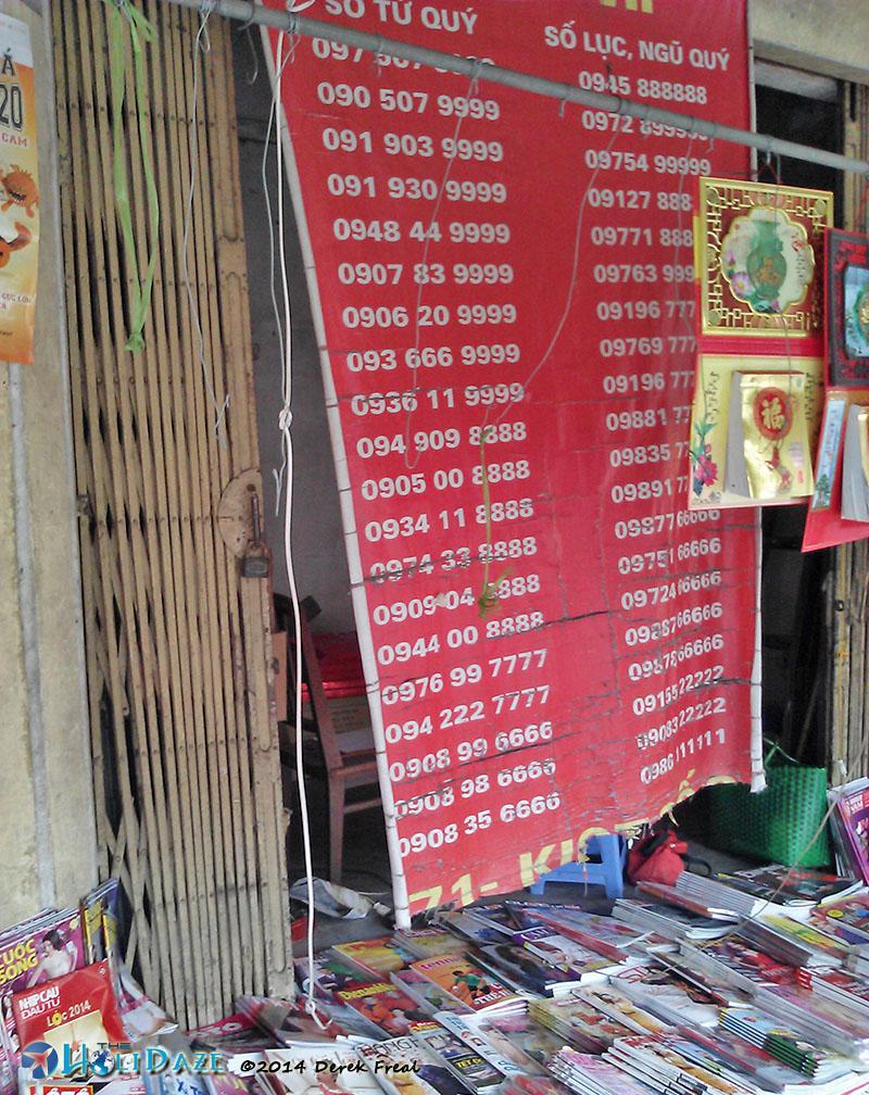 SIM Card Number Selection In Hanoi, Vietnam
