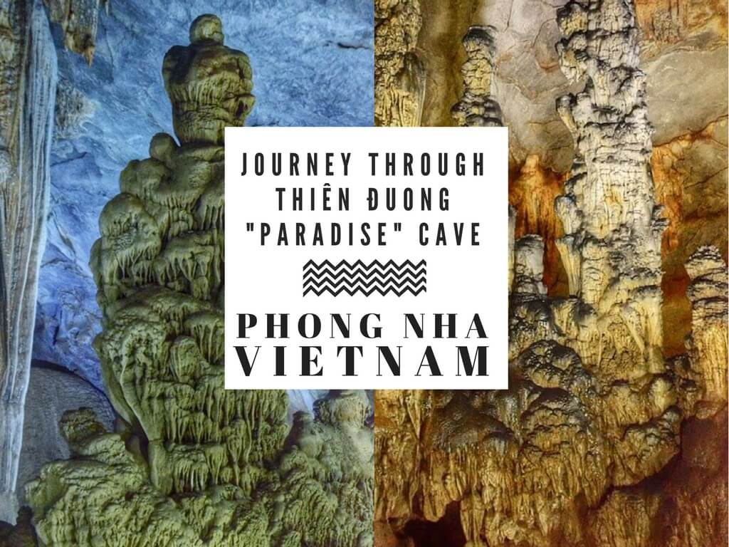 "Thien Duong ""Paradise"" Cave in Phong Nha, Vietnam"