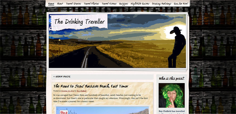 Best New Travel Blogs: The Drinking Traveller