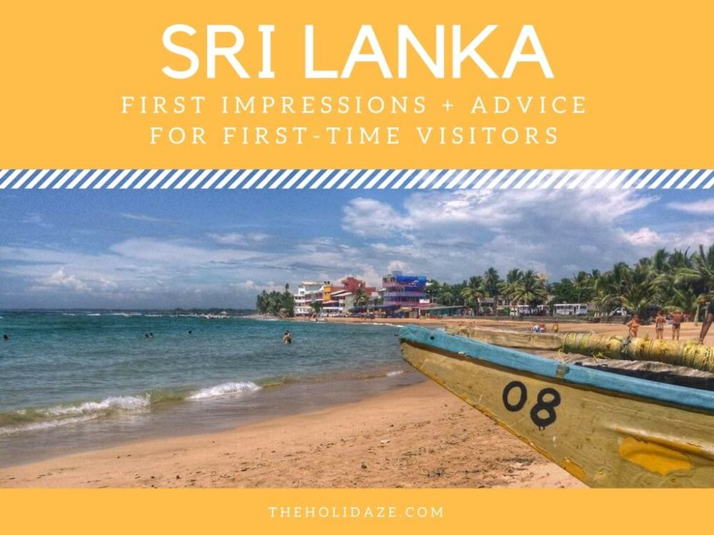 First Impressions: Sri Lanka (And Advice For Other First-Timers)