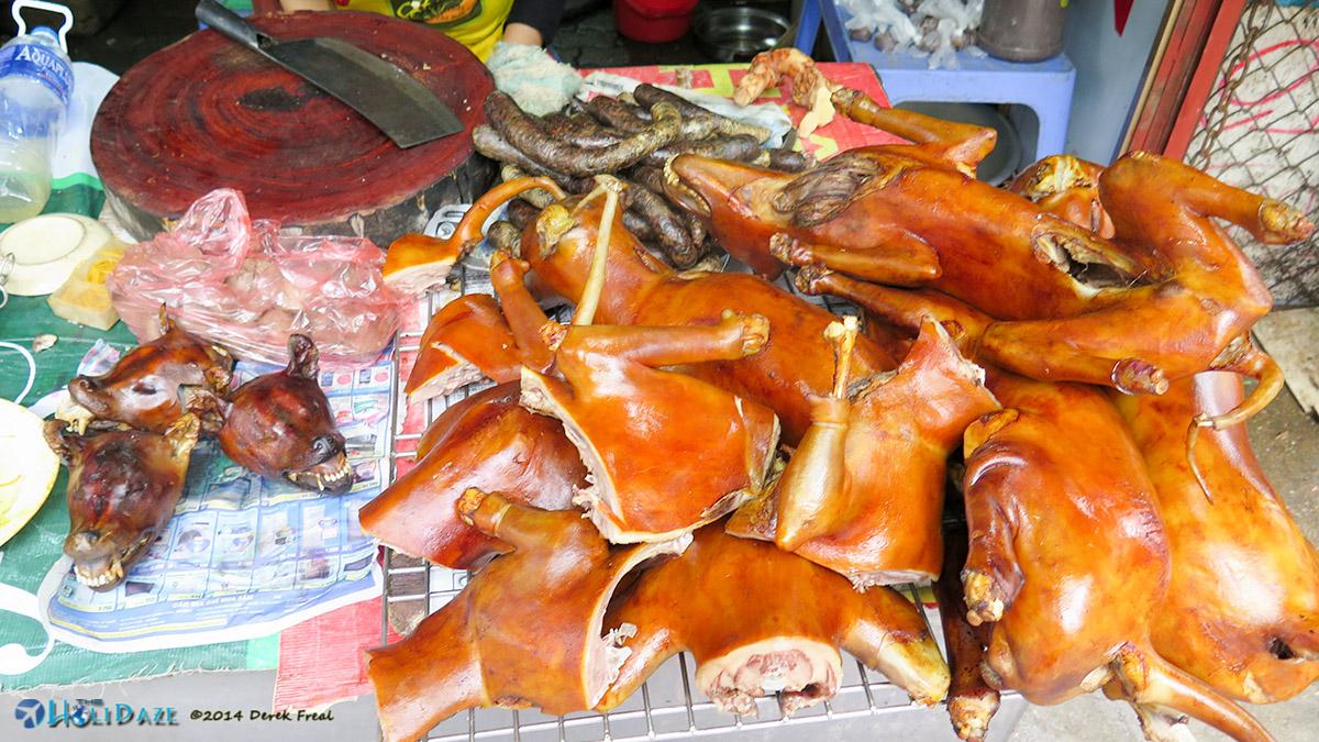 Eating dog in Vietnam