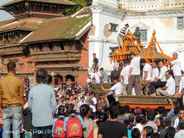 Kumari Jatra chariot procession