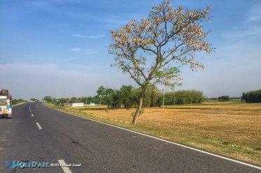 Open roads on the Rickshaw Run
