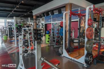 Gym at Ascott Sathorn in Bangkok