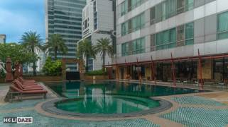 Pool at Ascott Sathorn in Bangkok