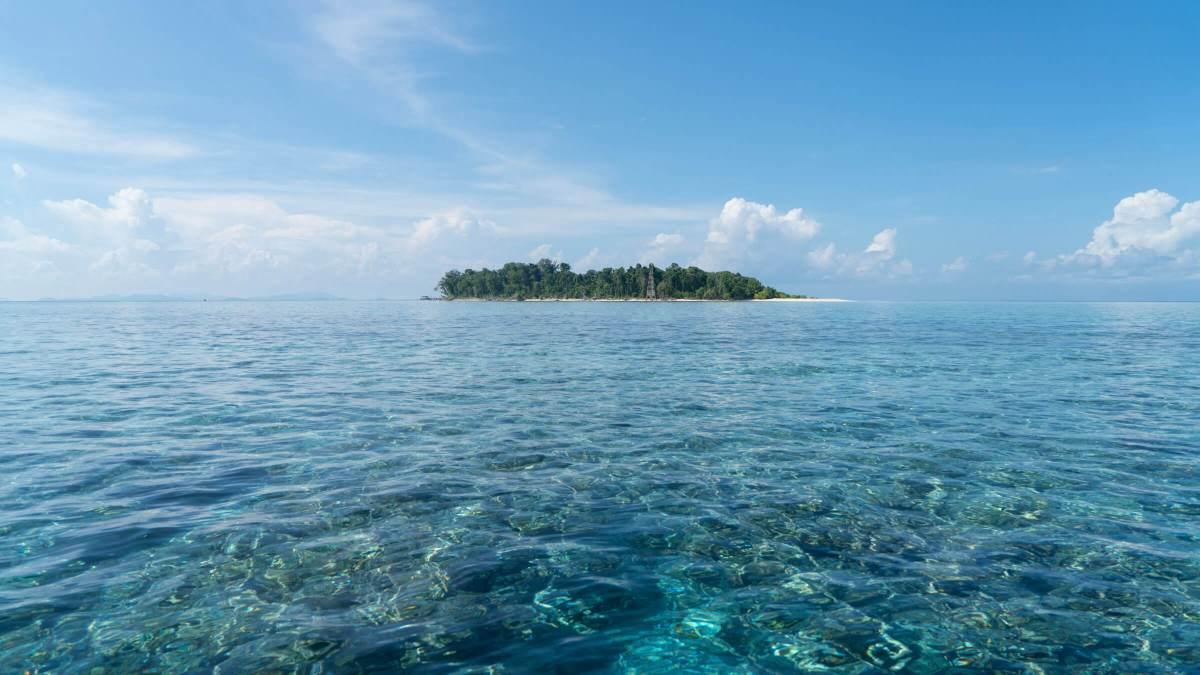 Sipadan Island in Sabah, Malaysia