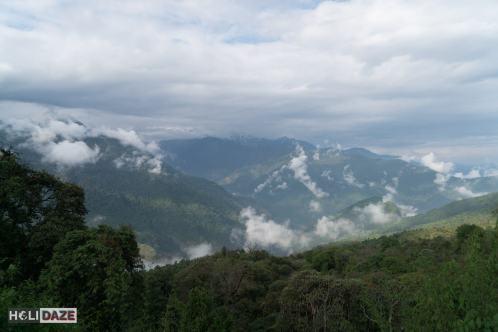 The view from Ghorepani, Nepal
