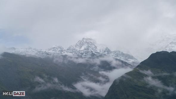 Annapurna South as seen from Ghorepani