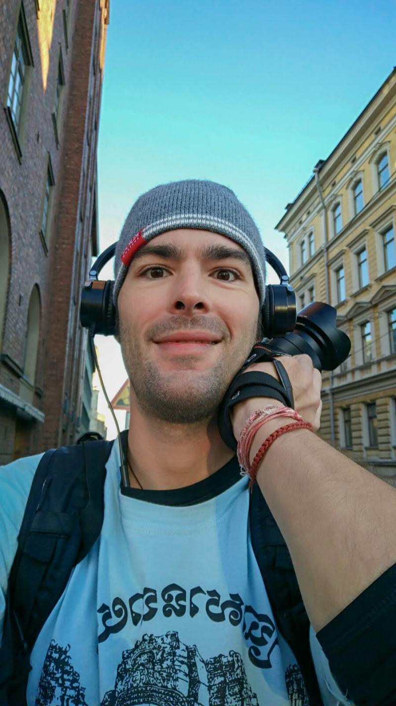 Derek Freal in Helsinki, Finland