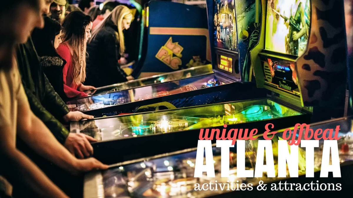 Unique and offbeat Atlanta activities and attractions, a HoliDaze travel guide