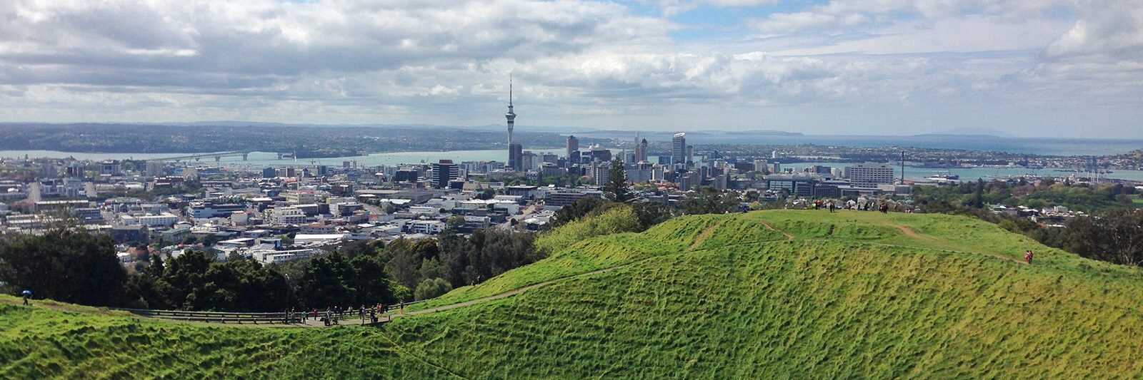 Mount Eden, also known as Maungawhau, is the tallest mainland volcano in Auckland, New Zealand