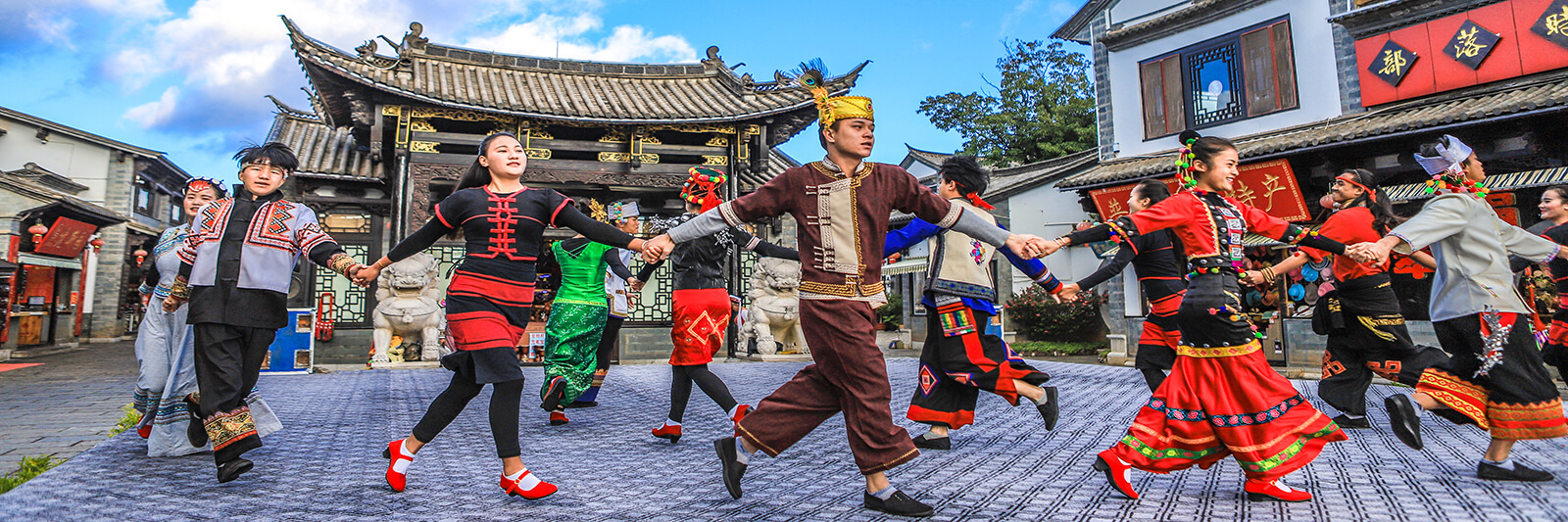Yunnan Ethnic Village in China