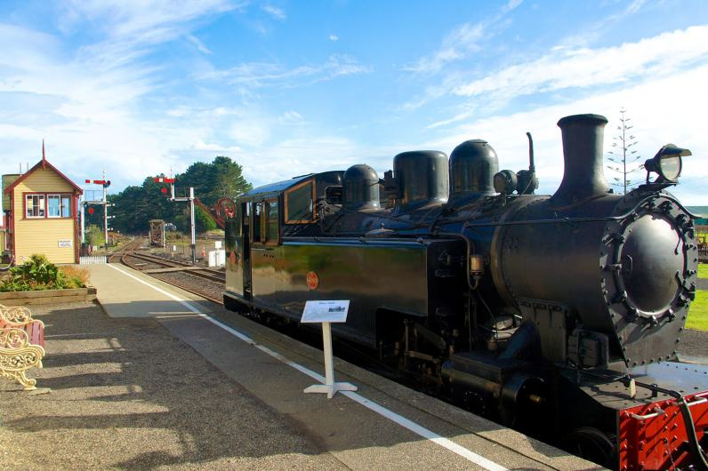 The WW 480 at Glenbrook Vintage Railway was built in 1910 at the Hillside Railway Workshops in Dunedin