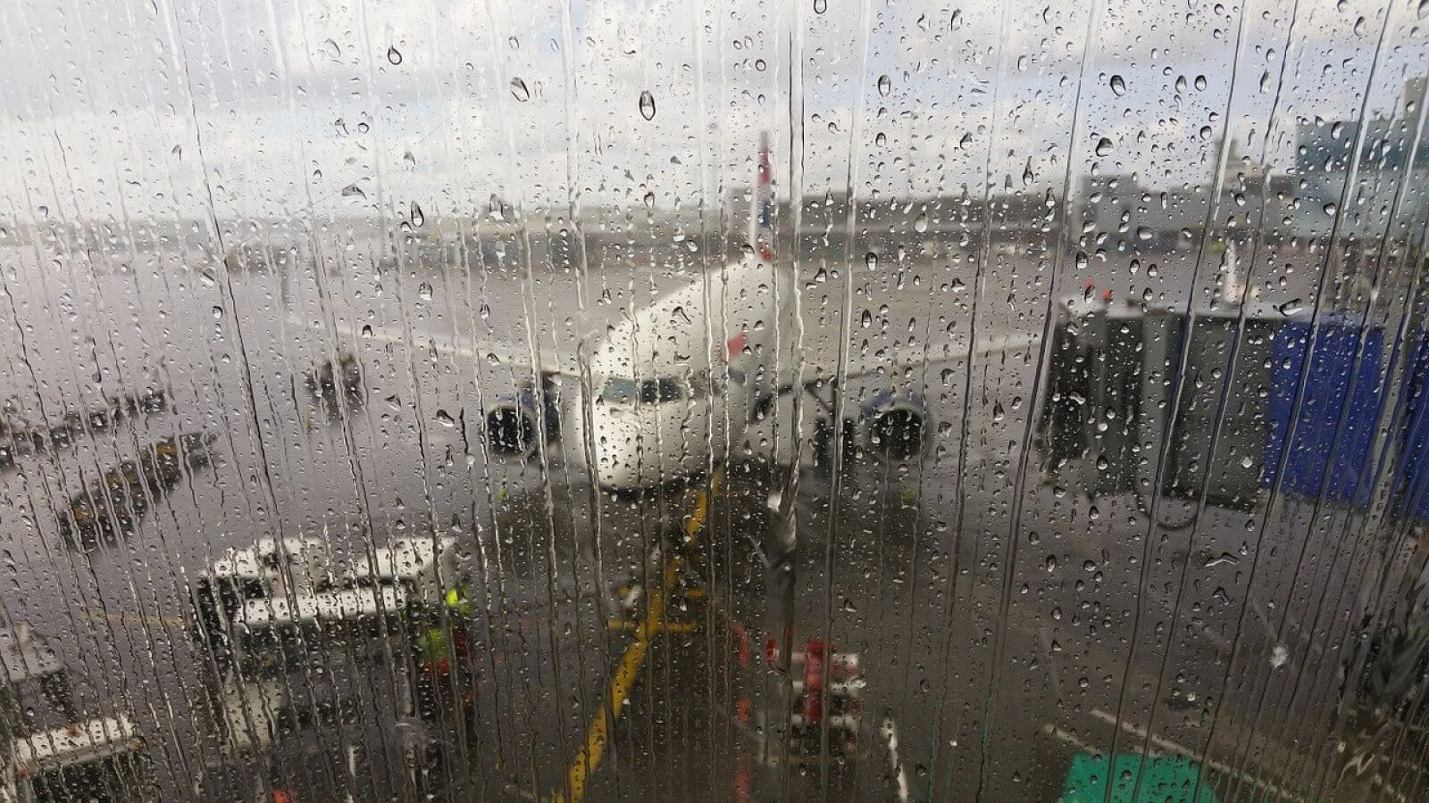 Rainy Airport Day