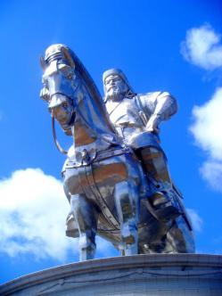 Chinggis Khaan (aka Ghengis Khan) the embodiment of Mongolian manliness