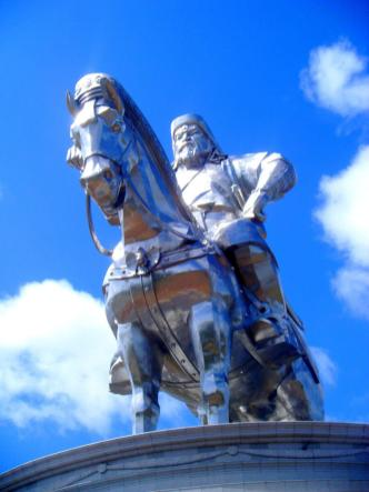 Chinggis Khaan (aka Ghengis Khan) the embodiment of Mongolian manliness
