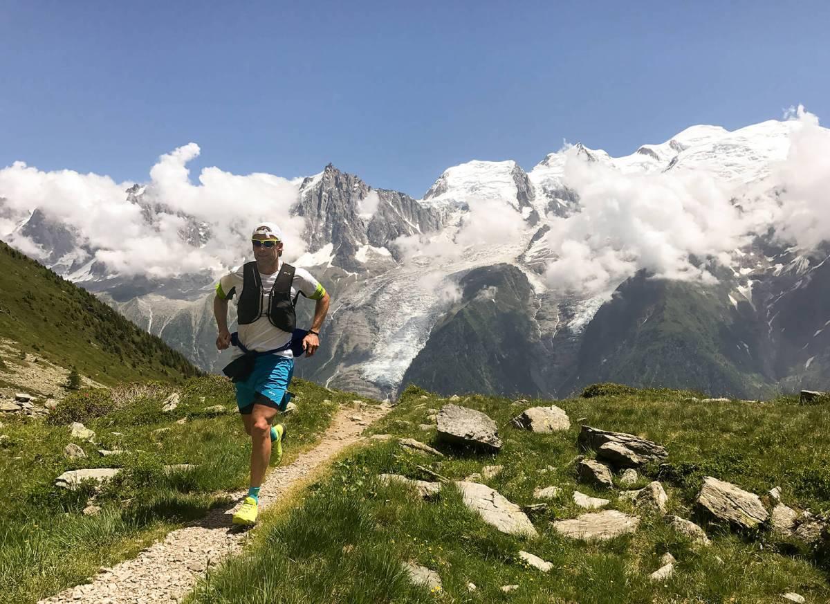 Mountain Jogging in Chamonix, France