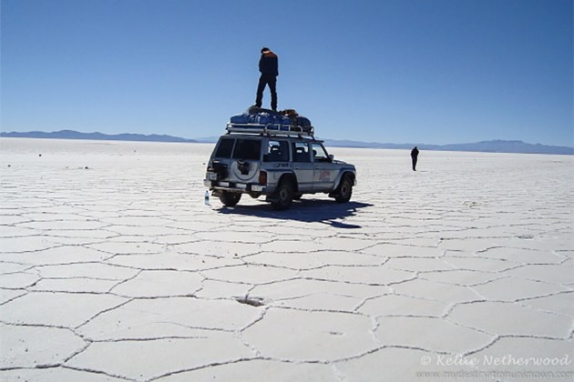 Salar de Uyuni in Bolivia is the world's largest salt flat and one of the must visit destinations before you leave Bolivia