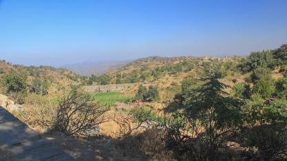 View from Badal Mahal in Rajasthan, India