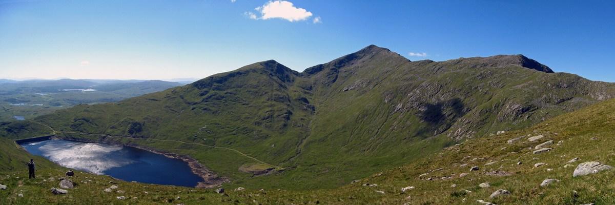 Ben Cruachan, also known as The Hollow Mountain, in Scotland