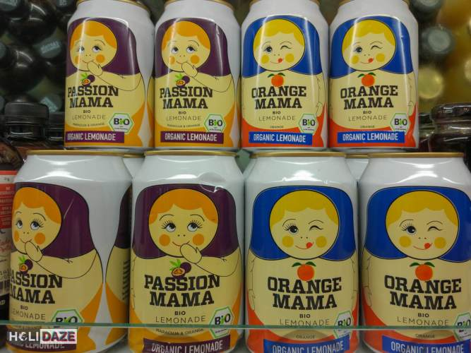 Cute Korean juice cans