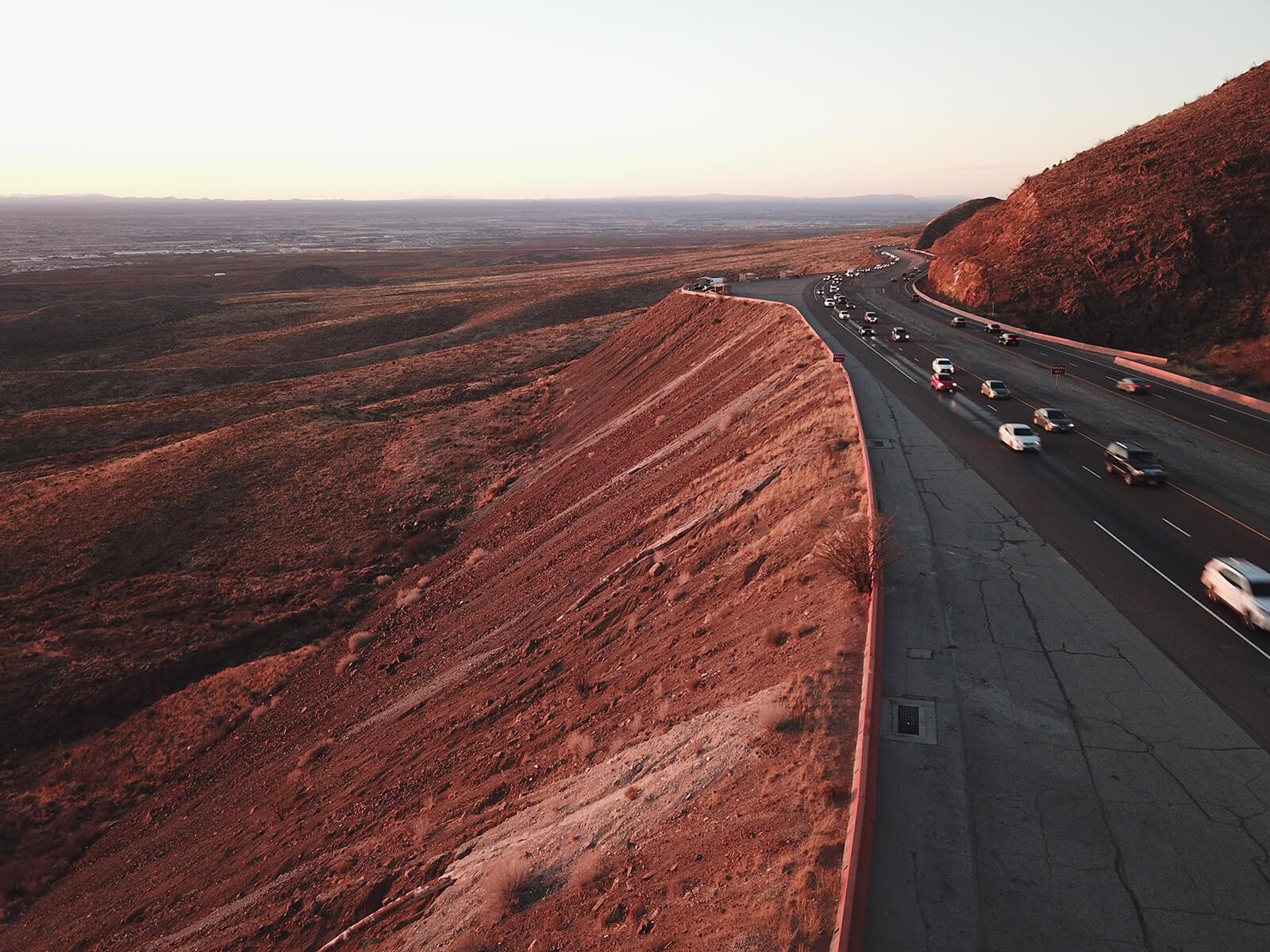 Trans Mountain Road, El Paso, Texas