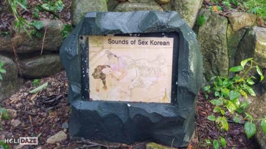'Sounds of Sex' along the Love Road in Gyeongju, South Korea