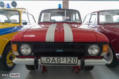 IZH-2125 at Tbilisi Auto Museum -- this car was considered to be the first Soviet hatchback