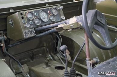 Interior of the Transporter