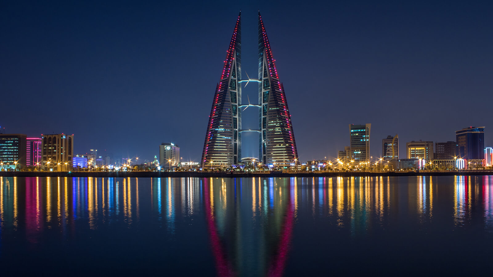 World Trade Center in Manama, Bahrain