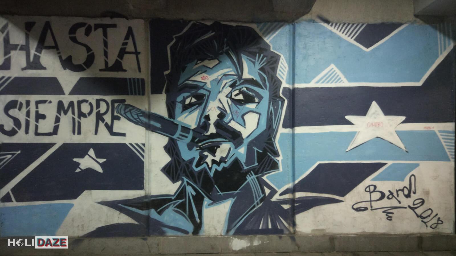 Goodbye forever Tbilisi street art