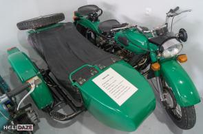 Ural 2 M63 motorcycle