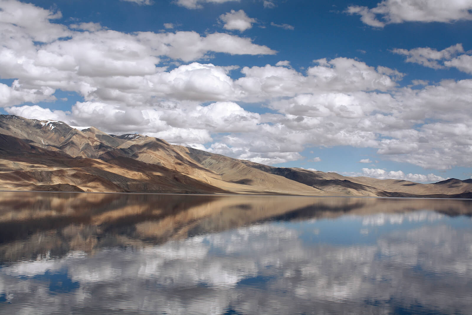 Tso Moriri in Ladakh, India