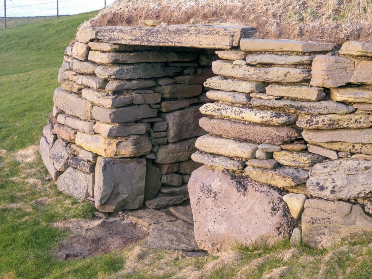 Knap Of Howar in Papa Westray, Scotland