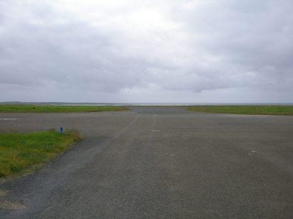 Papa Westray airport runway