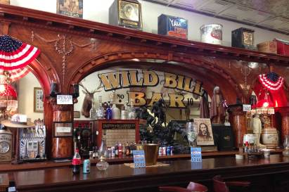 Saloon Number 10 in Deadwood, South Dakota is also known as the Wild Bill Bar
