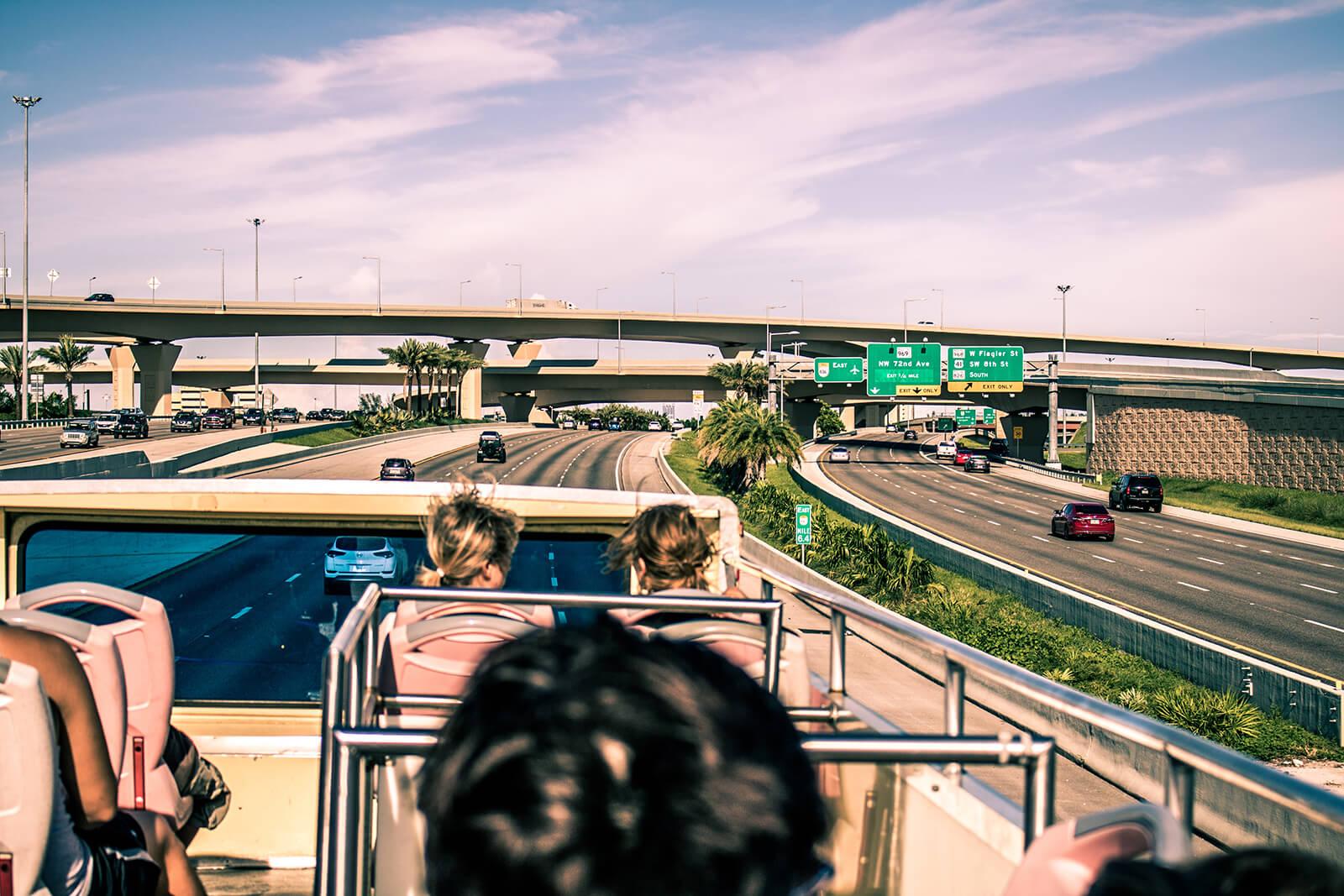 Miami Beach bus tour