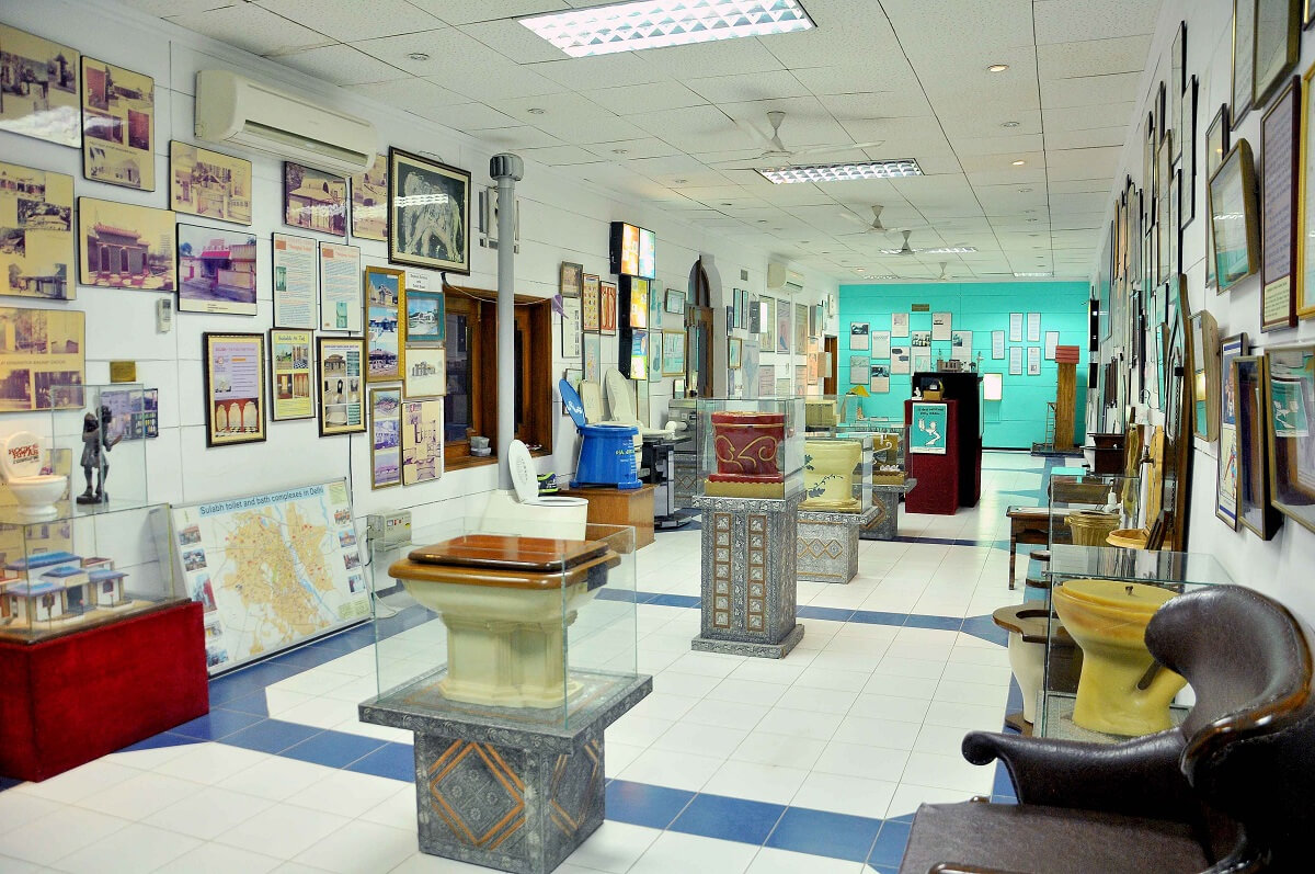 Sulabh International Museum Of Toilets is one of Delhi's most offbeat tourists attractions