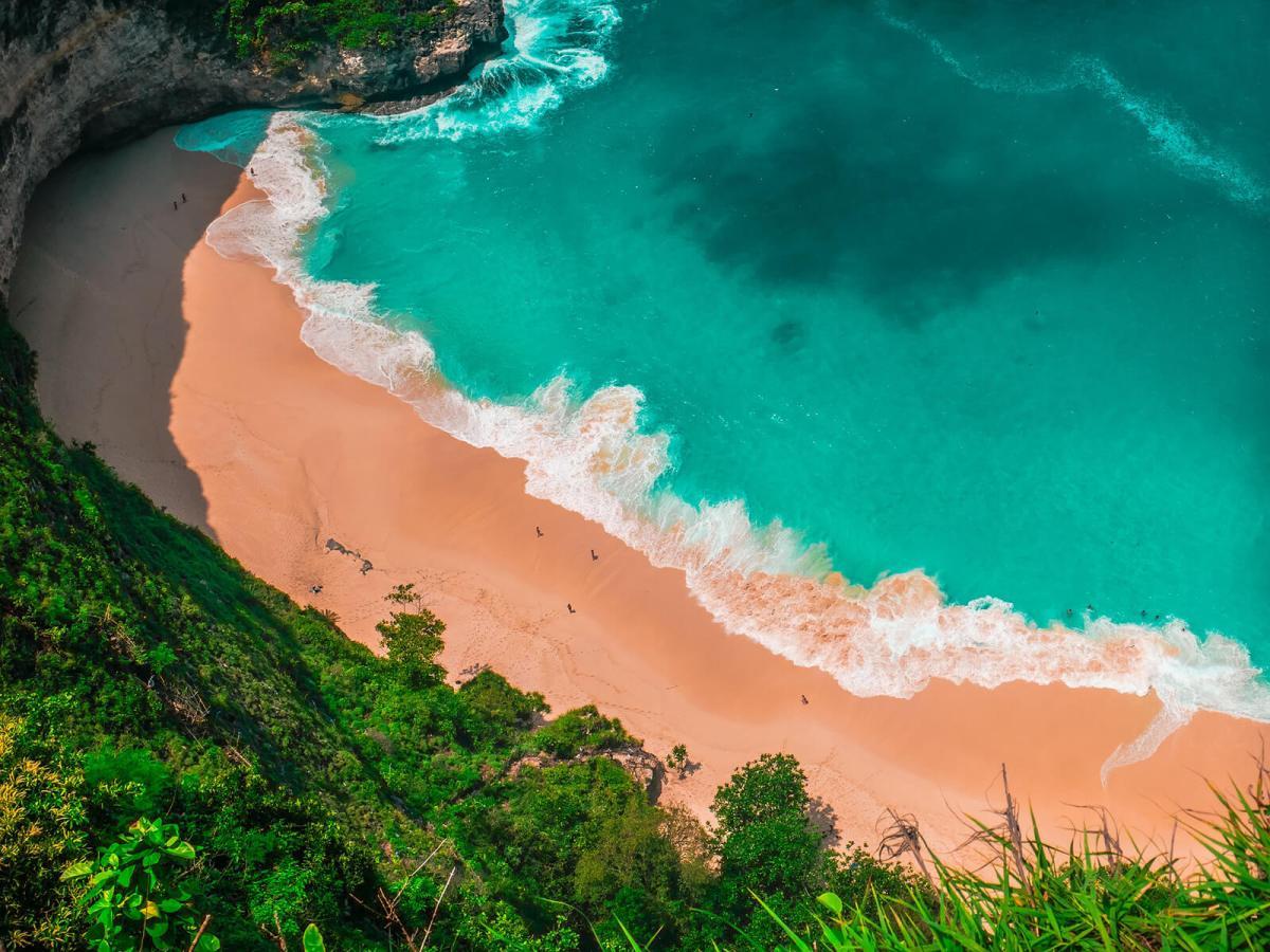 Klingking Beach in Bali, Indonesia