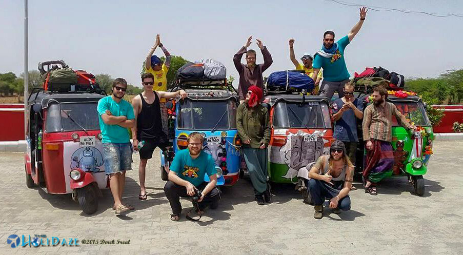 Our Rickshaw Run group consisted of 11 people, 4 'shaws, 5 GoPros (+1 FoPro), 3 DSLRs and 1 drone