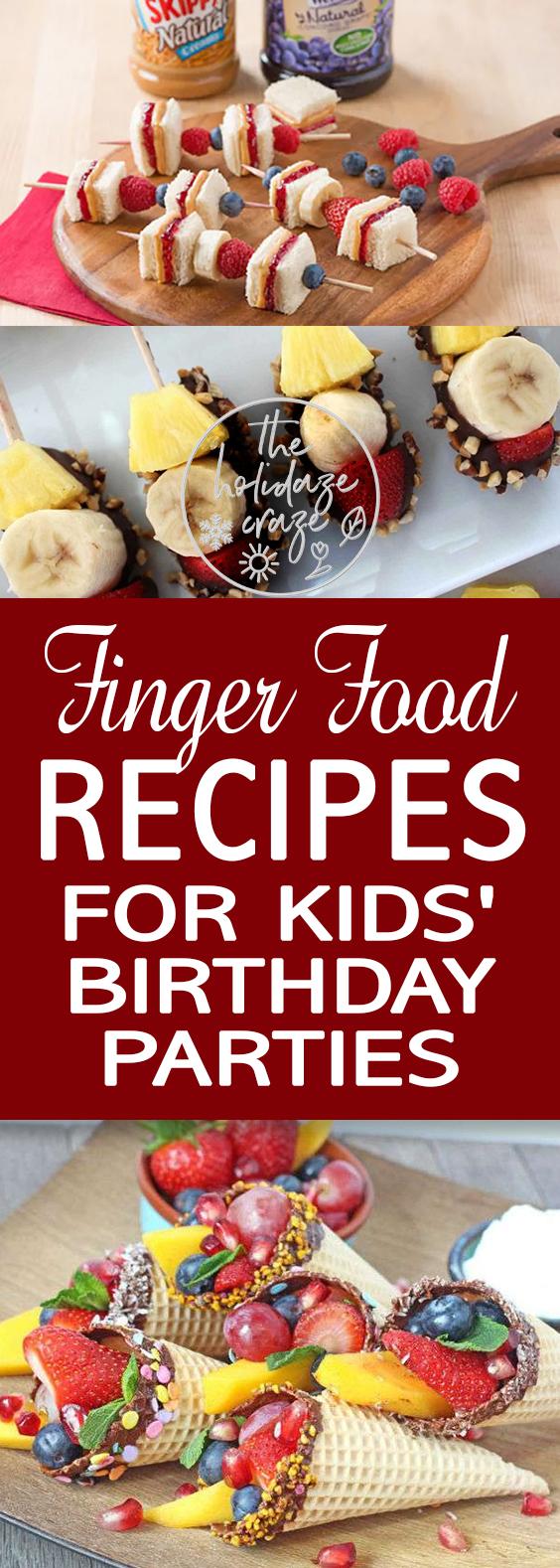 finger food recipes for
