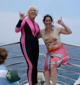 Linda & Sandy- Woohoo!